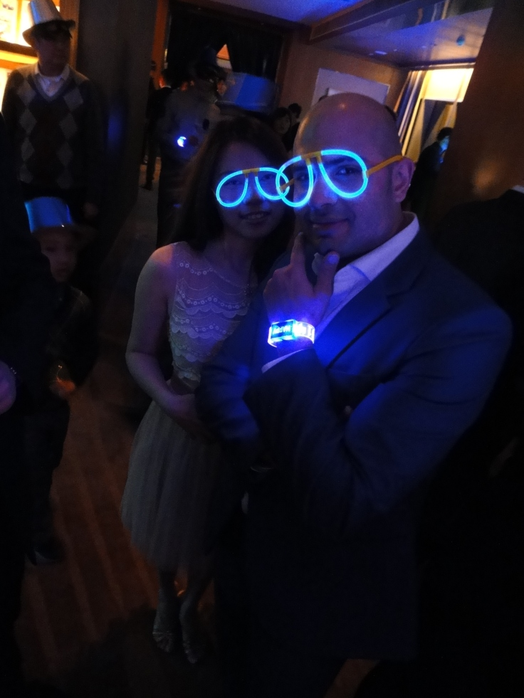 LED watches & glow-stick glasses