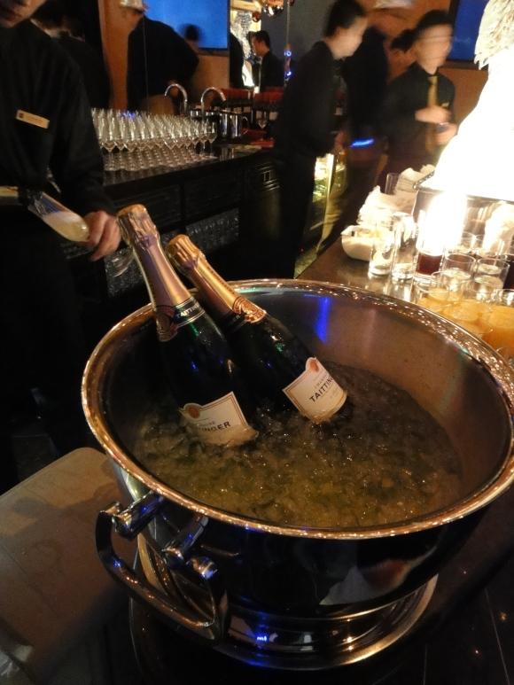 Free flow champagne
